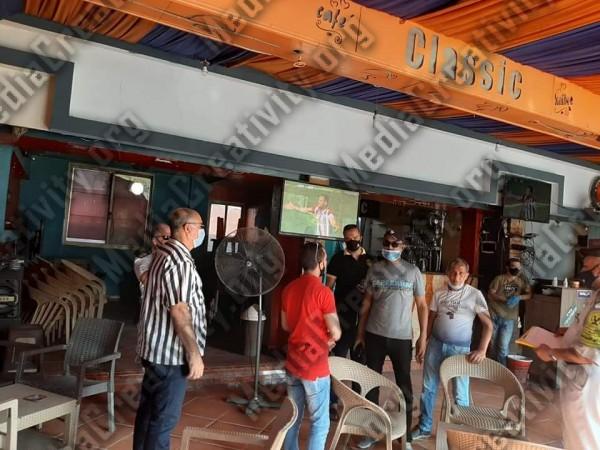 حي ثالث الإسماعيلية يقود حملة تفتيش على المقاهي