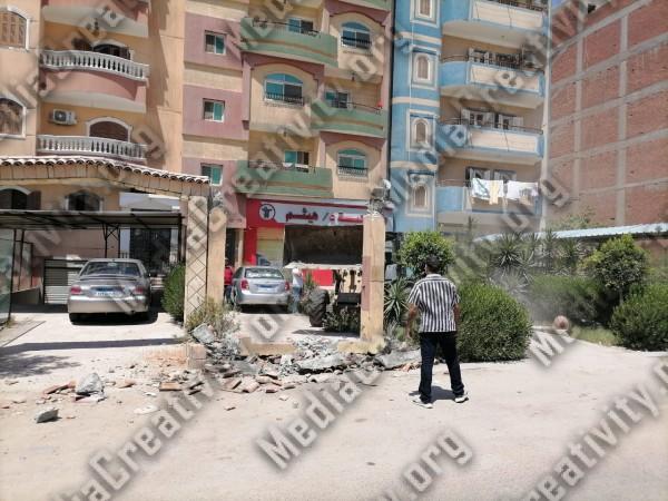 محمد صابر نائب رئيس حي ثالث الإسماعيلية