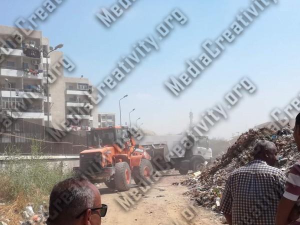 محافظ الإسماعيلية يوجة بتطهير منطقة الشيخ زايد