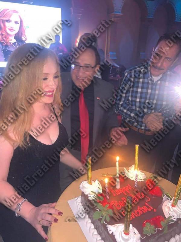 عيد ميلاد الإعلامية شيرين عبد الجواد