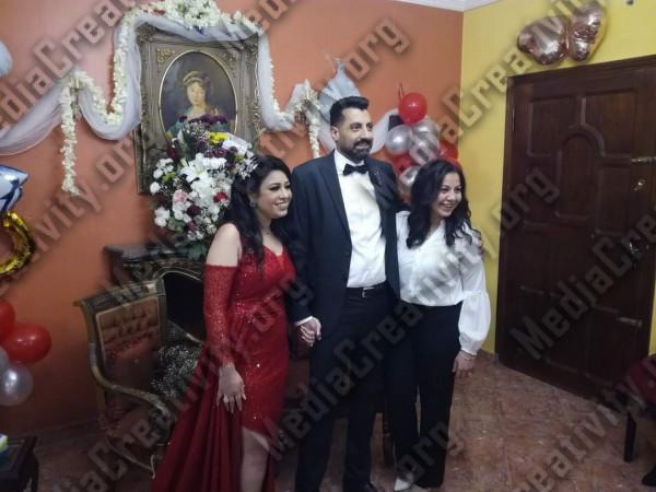 حفل خطوبة ريمون وسيمونا