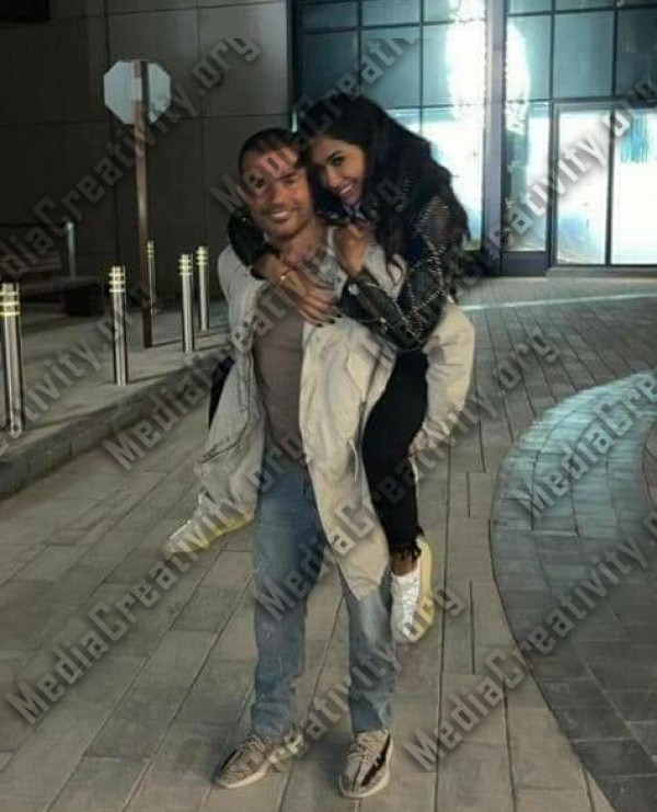عمرو دياب مع انجي كيوان