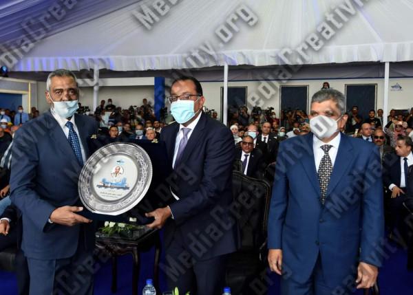 تدشين الكراكة حسين طنطاوي
