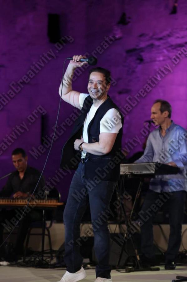 مدحت صالح فى ختام فعاليات مهرجان القلعة للموسيقى والغناء